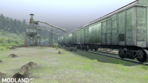 """The map """"Forest terminal"""" v 1.0 for (v03.03.16), 2 photo"""
