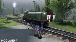"Map ""Working with locomotives"" v 0.1 for (v03.03.16), 3 photo"