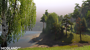 Map of Glacial Lake version 1.0 for SpinTires (v03.03.16), 5 photo