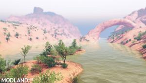 """Map """"Nevada Desert"""" v1.1 for Spintires (03.03.16), 2 photo"""