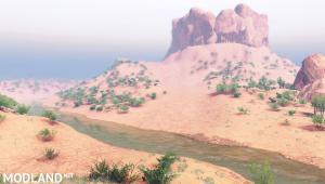 """Map """"Nevada Desert"""" v1.1 for Spintires (03.03.16), 3 photo"""