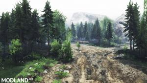 "Map ""Ilya"" for Spintires (03.03.16), 2 photo"