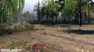 """Map """"Valley of craters"""" v 1.0, 2 photo"""