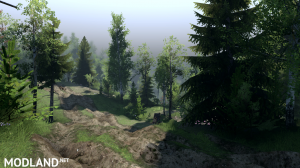 "Map ""Caucasus Mountains"" v 1.0 for v03.03.16, 2 photo"