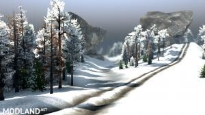 """Map """"Valley: Winter"""" v 1.0 for (v03.03.16), 1 photo"""