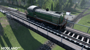 "Map ""Working with locomotives"" v 0.1 for (v03.03.16), 2 photo"