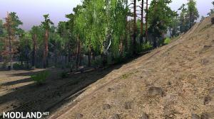 """Map """"Valley of craters"""" v 1.0, 4 photo"""