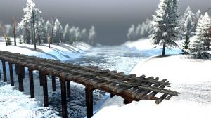 """Map """"Valley: Winter"""" v 1.0 for (v03.03.16), 2 photo"""