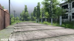 """The map """"Forest terminal"""" v 1.0 for (v03.03.16), 4 photo"""