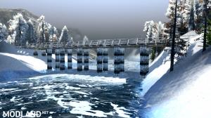 """Map """"Valley: Winter"""" v 1.0 for (v03.03.16), 3 photo"""