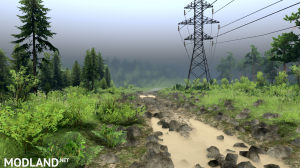 """The map """"Forest terminal"""" v 1.0 for (v03.03.16), 3 photo"""