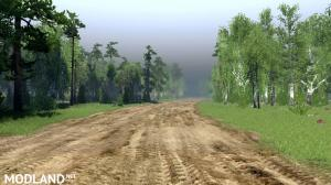 """Map """"6 Pyloram"""" version 1 for SpinTires (v03.03.16), 4 photo"""