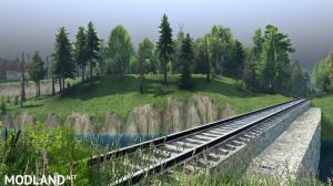 "Map ""Railway network"" v 1.0 for v03.03.16, 2 photo"