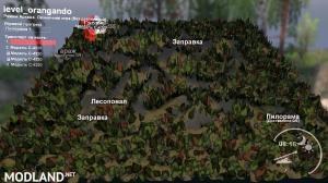 "Map ""Project Orangando"", 4 photo"