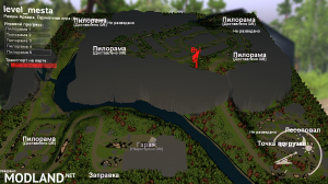"""The map """"Places worth a visit"""" v 1.0, 4 photo"""
