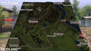 "The map ""69Volga-4"" version 1.0 for SpinTires (v03.03.16)"