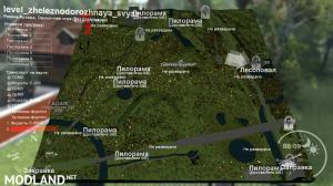 "Map ""Railway network"" v 1.0 for v03.03.16, 5 photo"