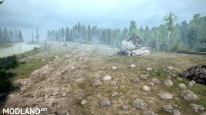 Map of Ionessi 2 version 1.1 for Spintires: Mudrunner, 5 photo