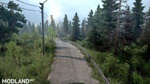 """The map """"Silvan leads"""" version 1.0 for Spintires: MudRunner (v07.11.17), 1 photo"""