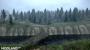 """The map """"Silvan leads"""" version 1.0 for Spintires: MudRunner (v07.11.17), 4 photo"""