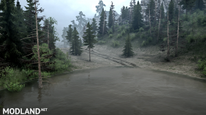 """The map """"Silvan leads"""" version 1.0 for Spintires: MudRunner (v07.11.17), 5 photo"""