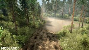 "Map ""Siberian Forest 3: Road to Lake Baikal"" version 1.0 for Spintires: MudRunner (v07.11.17), 4 photo"