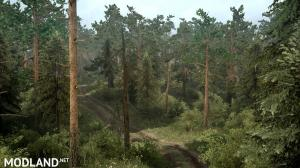 "Map ""Siberian Forest 3: Road to Lake Baikal"" version 1.0 for Spintires: MudRunner (v07.11.17), 2 photo"