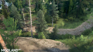 "The map ""Hillside Trails"" version 08.05.18 for (v18 / 03/06), 2 photo"