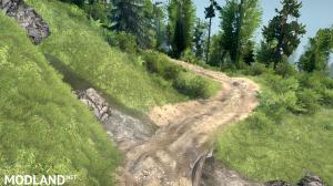 "The map ""Hillside Trails"" version 08.05.18 for (v18 / 03/06), 4 photo"
