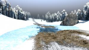 """Map """"Valley: Winter"""" v 1.0 for (v03.03.16), 6 photo"""