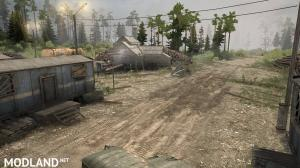 Map «CITY» - SPINTIRES: MUDRUNNER