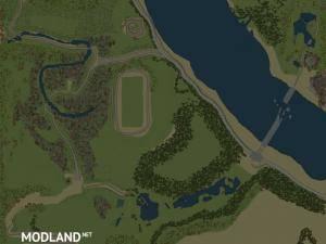 """Map """"BIG 11 – Left Bank"""" - Spintires: MudRunner, 1 photo"""