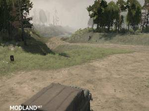 "Map ""BIG 11 – Left Bank"" - Spintires: MudRunner, 2 photo"