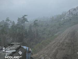 Dangerous Pass Map v1.0 - Spintires: MudRunner  , 2 photo