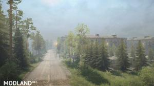 Dangerous Pass Map v1.0 - Spintires: MudRunner  , 3 photo