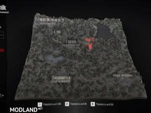 Source Map v1.2 - Spintires: MudRunner, 1 photo