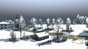 """The map """"Winter Fairy Tale"""" version 0.9 for SpinTires (v03.03.16), 2 photo"""