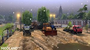 "The map ""Winter Garage"" version 1.0 for SpinTires (v03.03.16), 5 photo"