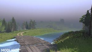 "The map ""Ukr.Les-Prom"" (new work) version 1.0 for SpinTires (v03.03.16), 1 photo"