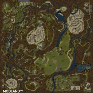 Abandone Mines Map, 1 photo