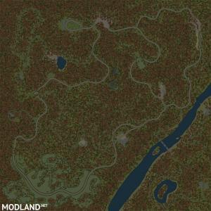 "Map ""Siberian Forest 3: Road to Lake Baikal"" version 1.0 for Spintires: MudRunner (v07.11.17), 3 photo"