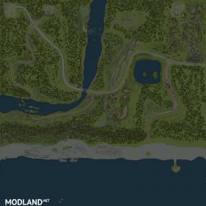 """Map """"Sea"""" version 1.0 for Spintires: MudRunner (v07.11.17)"""