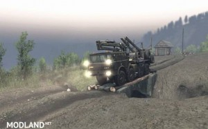 Project Two Map – SpinTires 23.10.15 & 8.11.15, 2 photo
