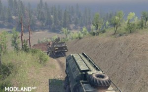 Project Two Map – SpinTires 23.10.15 & 8.11.15, 3 photo