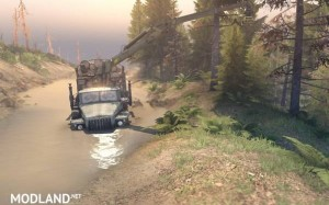 Project Two Map – SpinTires 23.10.15 & 8.11.15, 1 photo