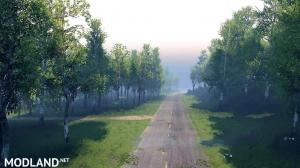The road doesn't forgive mistakes Map v1.0