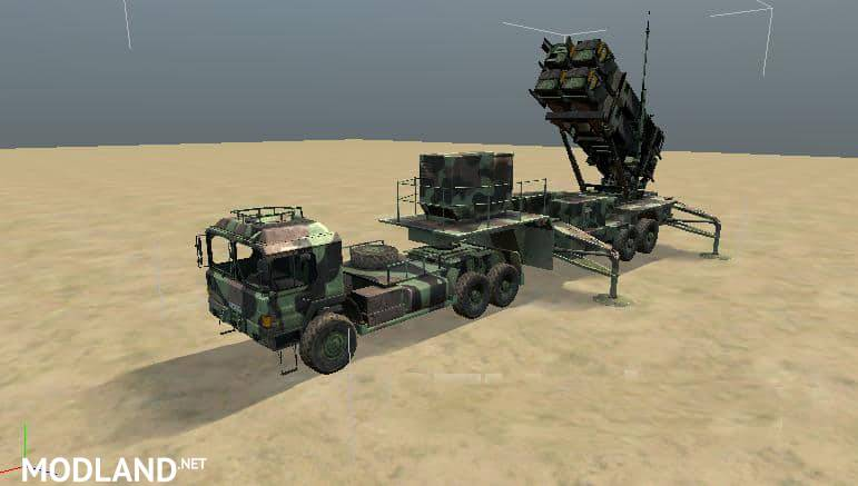 ANTI-AIRCRAFT MISSILE SYSTEM PATRIOT PAC-3