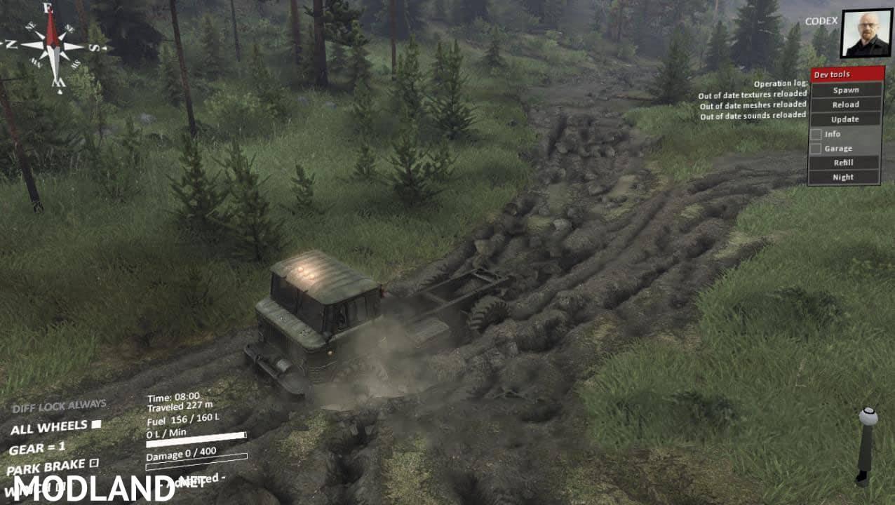 New dirt Beta version