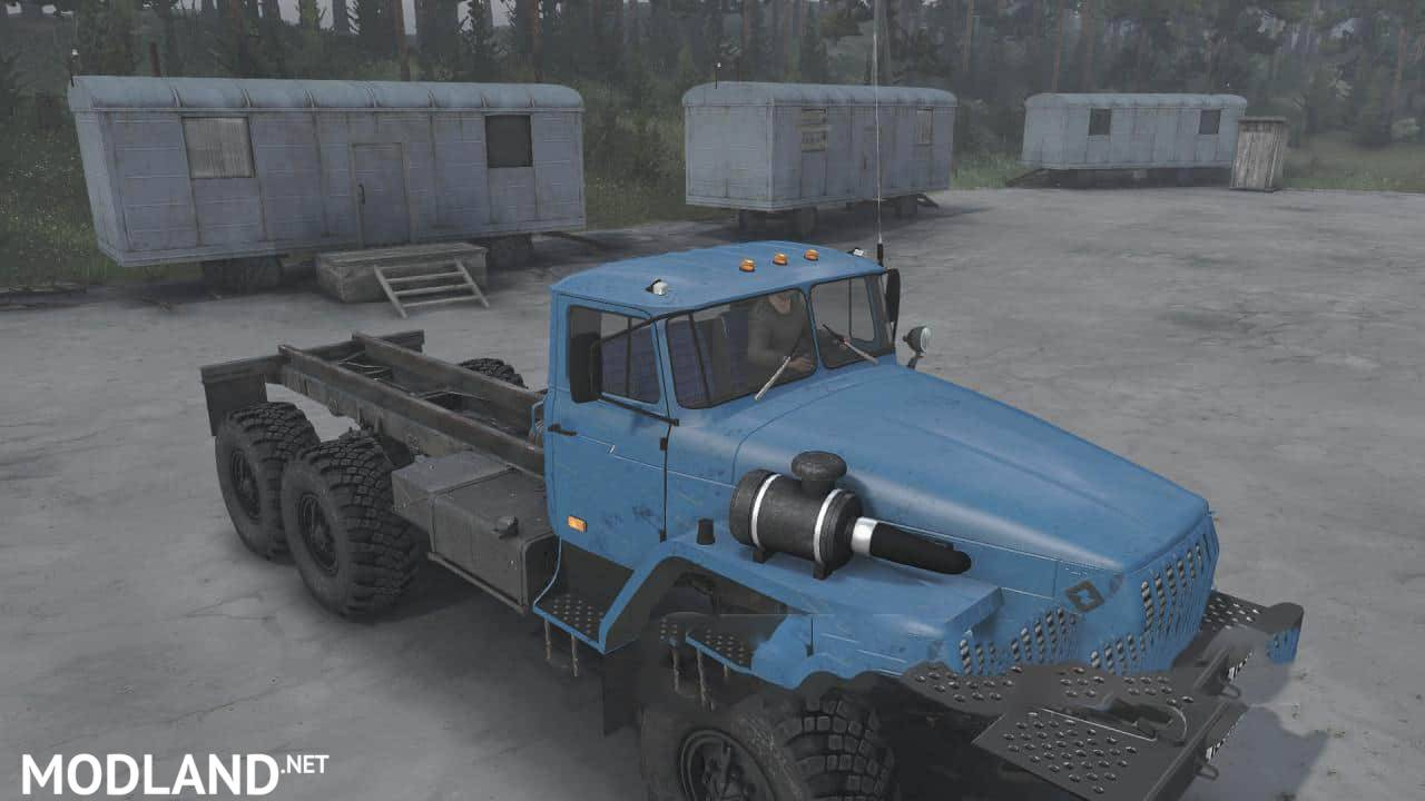 Textures for Ural4320-10