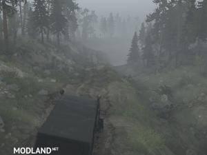 Forest Game Map v1.0 - Spintires: MudRunner, 3 photo